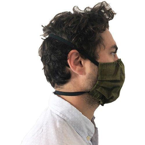 Puffin Gear Reuseable Washable Cotton Face Mask- 3 Layers-Polypropylene Spunbond Filter Layer-Made in Canada