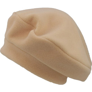 Puffin Gear Polartec Classic 200 Series Fleece Beret-Made in Canada-Fawn