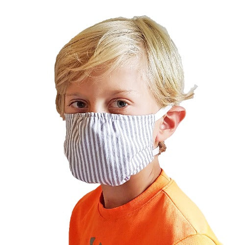 Puffin Gear Child 3 Layer Reusable Washable Mask with Spunbond Polypropylene Non Woven Filter Layer-Made in Canada