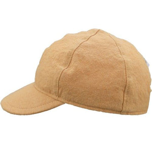 Child and Toddler UPF50+ Linen Ball Cap Made in Canada by Puffin Gear-Ochre