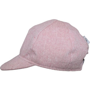 Child and Toddler UPF50+ Linen Ball Cap Made in Canada by Puffin Gear-Berry