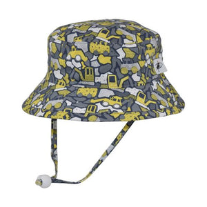 Puffin Gear Child UPF50+ Sun Protection Camp Bucket Hat-Made in Canada-Digger