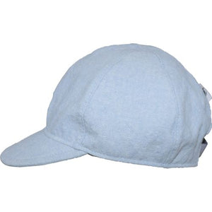 Puffin Gear Linen Tweed Child Ball Cap-Made in Canada-Faded Denim