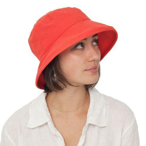 Puffin Gear Clothesline Linen UPF50 Sun Protection Slouch Hat-Made in Canada