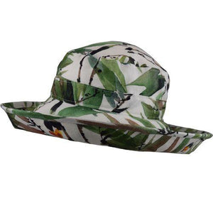 Puffin Gear UPF50 Sun Protection Wide Brim Classic Hat-Courtyard Garden-Tropical-Made in Canada