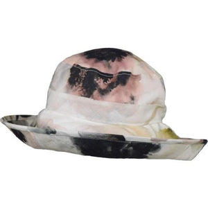 Puffin Gear UPF50 Sun Protection Wide Brim Classic Hat-Courtyard Garden-Bloom-Made in Canada