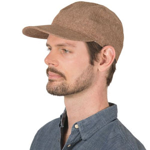 Puffin Gear Linen Canvas Ball Cap with UPF50 Sun Protection - Made in Canada