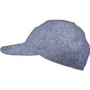 Puffin Gear Linen Canvas UPF50 Sun Protection Ball Cap-Made in Canada-Navy