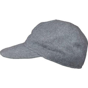 Puffin Gear Linen Canvas UPF50 Sun Protection Ball Cap-Made in Canada-Shale