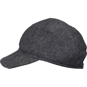 Puffin Gear Linen Tweed Child Ball Cap-Made in Canada-Charcoal