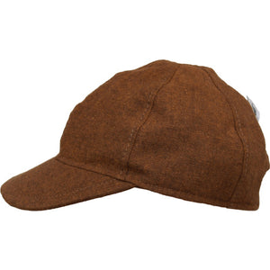 Puffin Gear Linen Tweed Child Ball Cap-Made in Canada-Copper