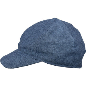 Puffin Gear Linen Tweed Child Ball Cap-Made in Canada-Navy