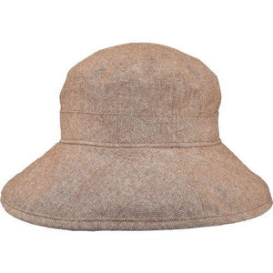 Puffin Gear Linen Canvas UPF50 Sun Protection Garden Hat-Copper