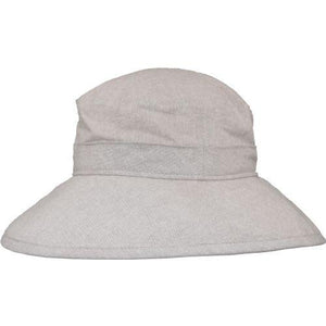 Puffin Gear Linen Canvas UPF50 Sun Protection Garden Hat-Flax
