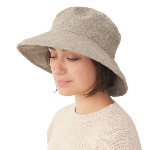 Puffin Gear Linen Canvas UPF50 Sun Protection Garden Hat-Olive