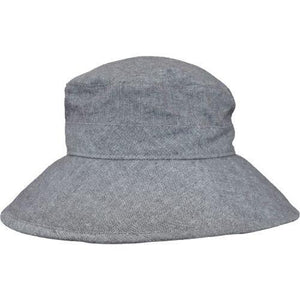 Puffin Gear Linen Canvas UPF50 Sun Protection Garden Hat-Shale