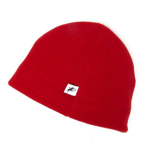 Puffin Gear Polartec 200 Fleece Beanie-Canada and US-Red