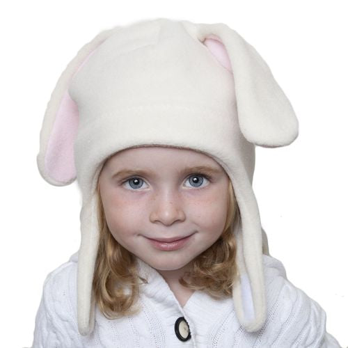 Puffin Gear Polartec Classic 200 Series Fleece Child and Toddler  Bunny Hat with Chinwrap Closure-Made in Canada