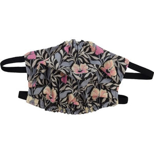 Puffin Gear Reusable Cotton Face Mask-Liberty of London-Pansy-Made in Canada