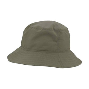 Puffin Gear UPF50 Sun Protection Solar Nylon Crusher Hat-Made in Canada-Olive