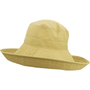 Puffin Gear UPF50  Six Inch Wide Brim Sun Protection Starlet Hat-Made in Canada-Wheat