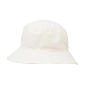 Puffin Gear UPF50 Sun Protection Solar Nylon Crusher Hat-Made in Canada-White