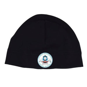 Puffin Gear Organic Cotton Jersey Beanie-Thomas & Friends 75th Anniversay -Black-Made in Canada
