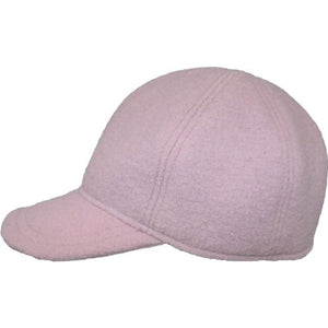 Puffin Gear Tilburg Wool Ball Cap-Made in Canada-Crab Apple