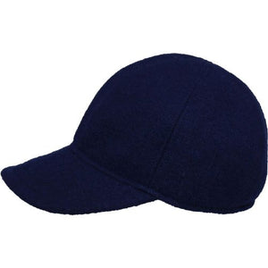 Puffin Gear Tilburg Wool Ball Cap-Made in Canada-Navy