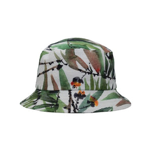 Puffin Gear Courtyard Garden UPF50 Sun Protection Bucket Hat-Made in Canada - Tropics