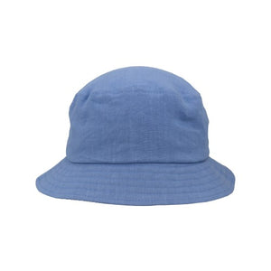 Puffin Gear Patio Linen UPF50 Sun Protection Bucket Hat-Made in Canada -Denim