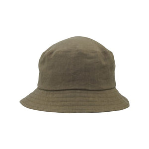 Puffin Gear Patio Linen UPF50 Sun Protection Bucket Hat-Made in Canada -Olive