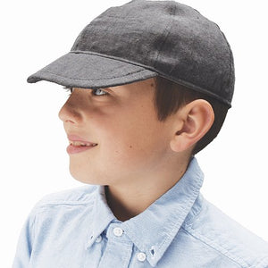 Linen Tweed Child Ball Cap