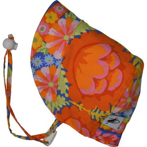 Puffin Gear UPF50 Sun Protection Infant and Toddler Bonnet SALE-Kaffe Fassett Boho