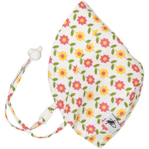 Puffin Gear UPF50 Sun Protection Infant and Toddler Bonnet SALE-Daisy Chain Yellow