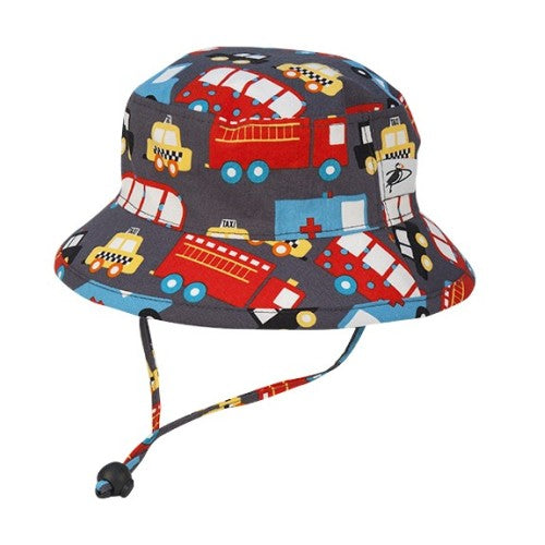 Puffin Gear Camp Sun Protection Hat-Emergency Vehicles