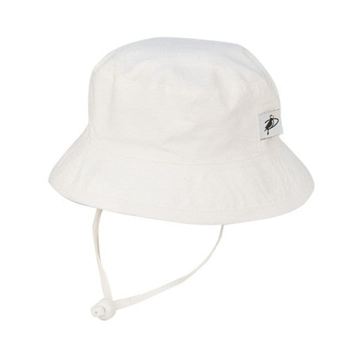 Puffin Gear Camp Sun Protection Hat-White Oxford