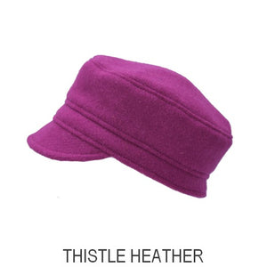 Harris Tweed Croft Cap-Thistle Harris Tweed Sale