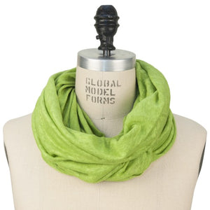 Puffin Gear Linen Jersey Scarf - Lime - Made in Canada