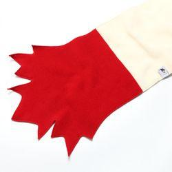 Puffin Gear® Maple Leaf Scarf-Polartec® Classic 200 Series Fleece-Made in Canada