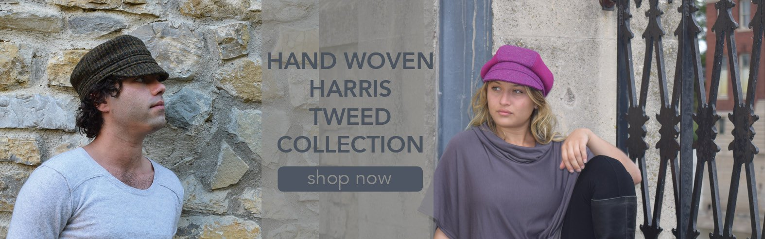 Puffin Gear Harris Tweed Hat Collection-Made in Canada