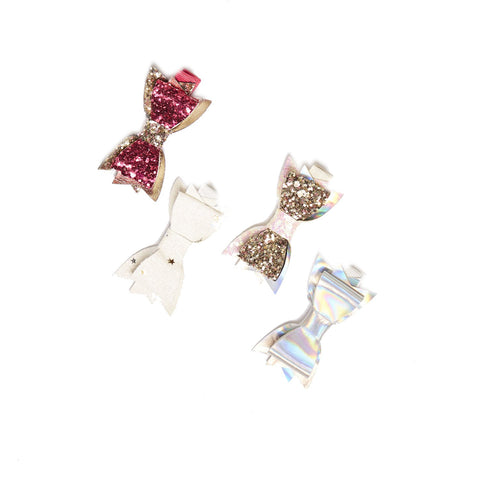 Plum NYC Millie Mini Bow Clips