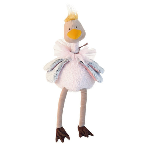 Moulin Roty Les Bazar Plush Petunia the Ostritch Doll - Little Luna Blue