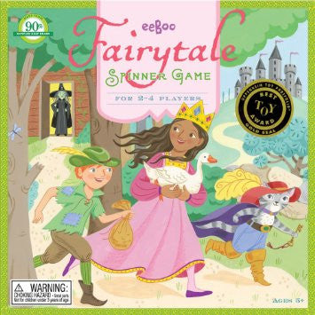 eeBoo Fairytale Spinner Board Game - Cute Designer Children's Clothing
