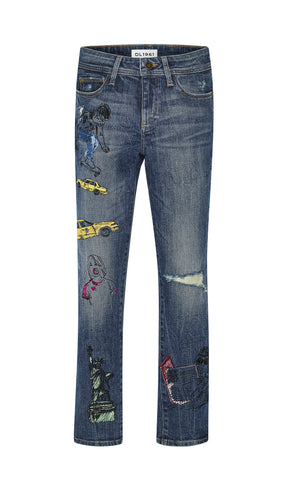 DL1961 City Denim Stretch Chloe Skinny Jeans