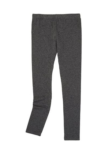 Splendid Girls Dark Heather Grey Leggings - Little Luna Blue