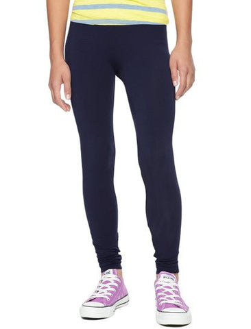 Splendid Girls Navy Leggings - Little Luna Blue