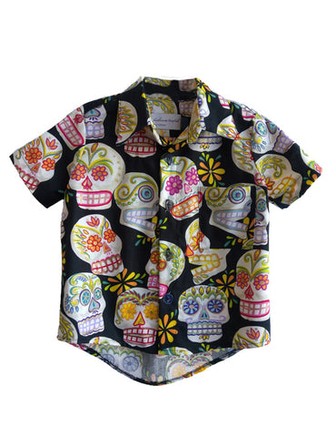 Fiveloaves Twofish Sugar Skull Shirt