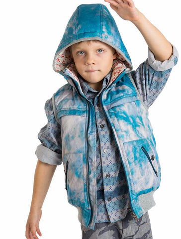 Paper Wings Boys Fall Icey Cloud Puffer Vest