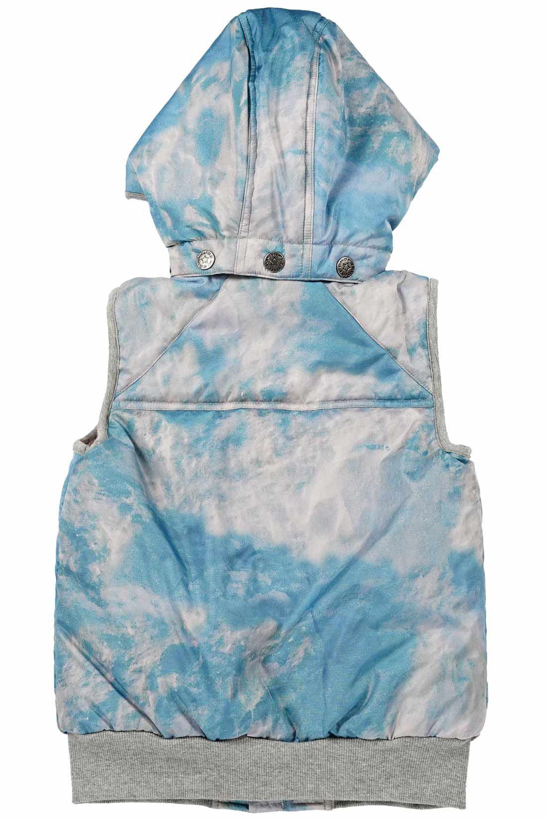 Paper Wings Boys Fall Icey Cloud Puffer Vest Little Luna